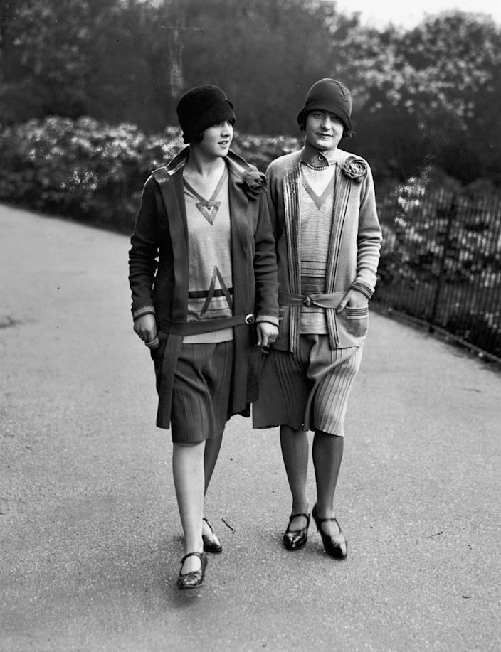 <p>For 1920, this thoroughly modern look is basically the 2004 equivalent of the <em>Mean Girls </em>miniskirt.</p>