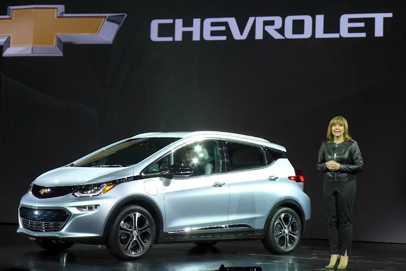 General Motor 39 S Gm Chairman And Ceo Mary Barra Unveils The