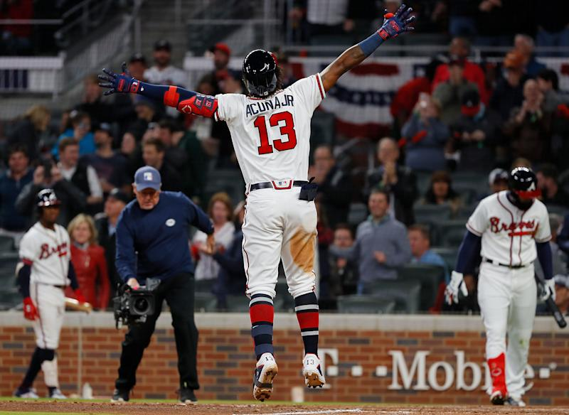 Braves Sign Acuña to Eight-Year Extension