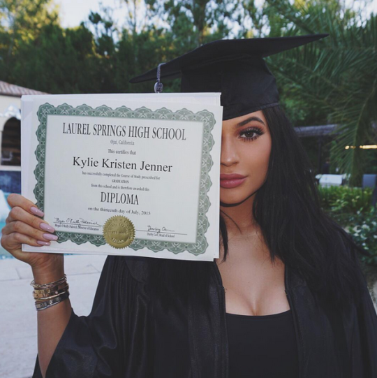 cartier rolex kylie jenner got the most insane graduation gifts