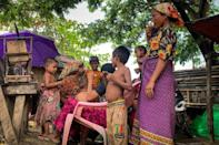 A shadow government led by supporters of Aung San Suu Kyi are welcoming the marginalised Rohingya community into their anti junta coalition