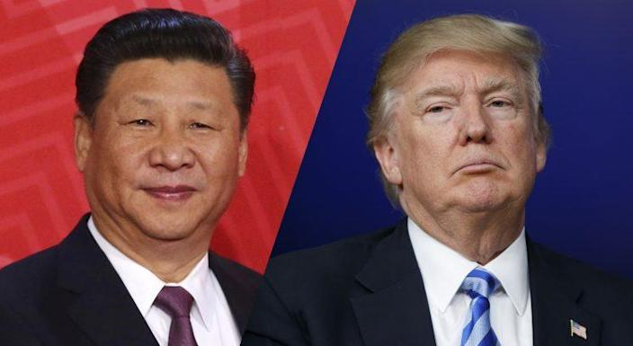Chinese President Xi Jinping and President Trump (Photo: AP)