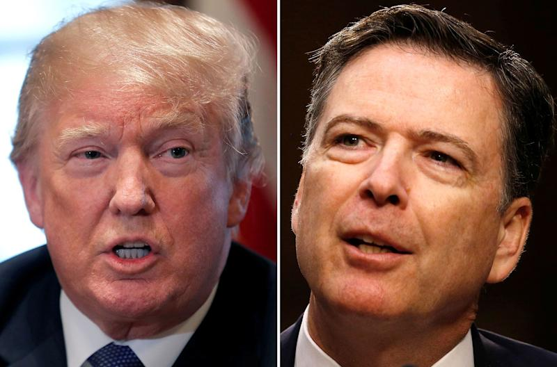 Americans don't like James Comey, but they trust him way more than they do President Trump, poll says