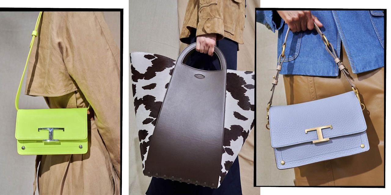 <p>Mini bucket or giant shopper, the fashion week runways of New York have got all of your clobber-toting needs sorted. So take your pick from the catwalks and have next autumn's handbag trends down pat.</p>
