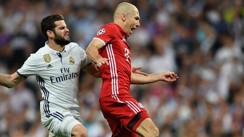 Robben: Bayern were robbed in Madrid