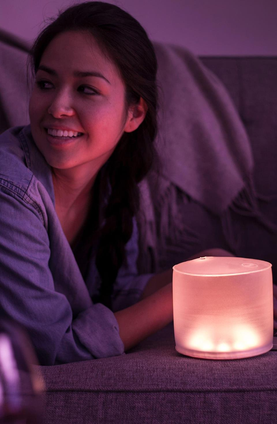 <p>From camping to relaxing night strolls, the <span>MPowerd Luci Color Essence Portable Solar Lantern</span> ($25) is all you need.</p>
