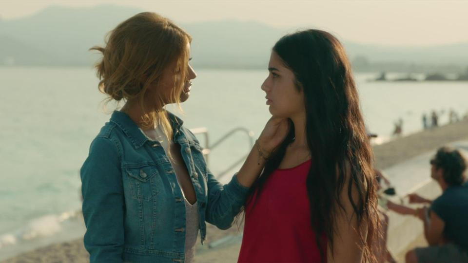 """<p>In this dramedy from France, 16-year-old Naïma spends her Summer with her free-spirited older cousin Sofia in Cannes, where Sofia teaches Naïma how to break the rules, and where Naïma learns more about herself than she ever expected. Watch <a href=""""http://www.netflix.com/title/81081603"""" class=""""link rapid-noclick-resp"""" rel=""""nofollow noopener"""" target=""""_blank"""" data-ylk=""""slk:An Easy Girl""""><strong>An Easy Girl</strong></a> on Netflix now.</p>"""