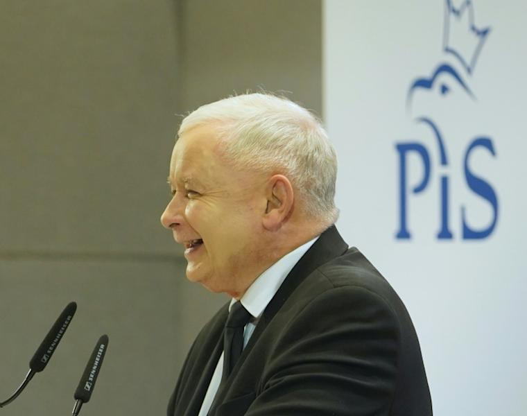 The leader of PiS (Law and Justice) party Jaroslaw Kaczynski has led a highly polarising campaign