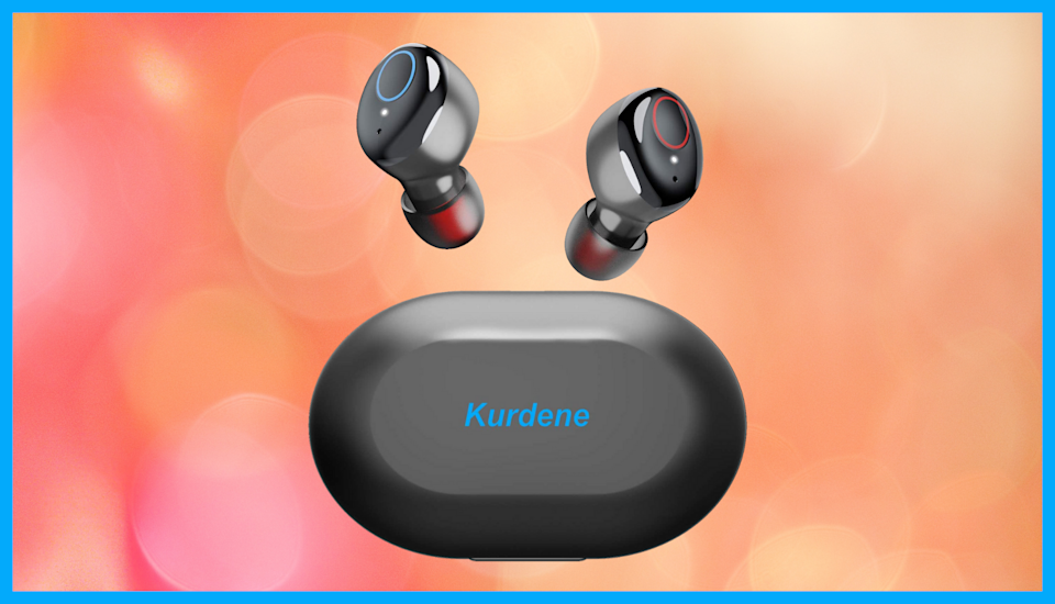 Save a whopping 56 percent on these Kurdene Wireless Earbuds, today only! (Photo: Amazon)