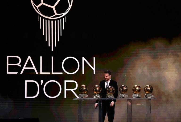 Lionel Messi added a sixth Ballon d'Or France to his collection on Monday