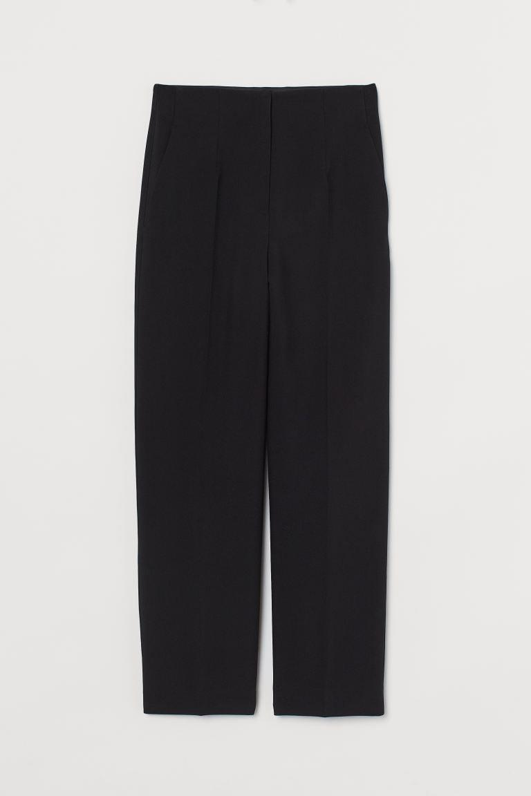 "<br><br><strong>H&M</strong> Tailored Trousers, $, available at <a href=""https://www2.hm.com/en_gb/productpage.0922782001.html"" rel=""nofollow noopener"" target=""_blank"" data-ylk=""slk:H&M"" class=""link rapid-noclick-resp"">H&M</a>"