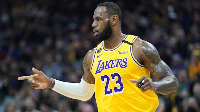 He is thrilled to see five Lakers players in the provisional US roster, but LeBron James will not rush to commit for the Olympics.