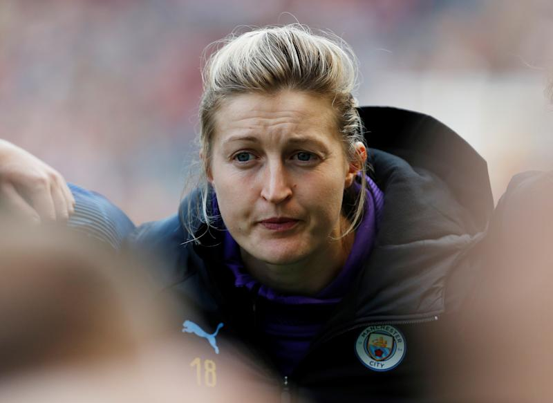 Manchester City's Ellen White Action Images via Reuters/Craig Brough
