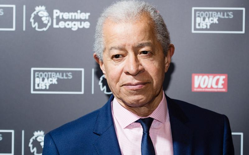 Lord Ouseley, chairman of Kick It Out, called for the FA to disclose its ethnicity and disability pay gaps as well as gender - Getty Images Europe