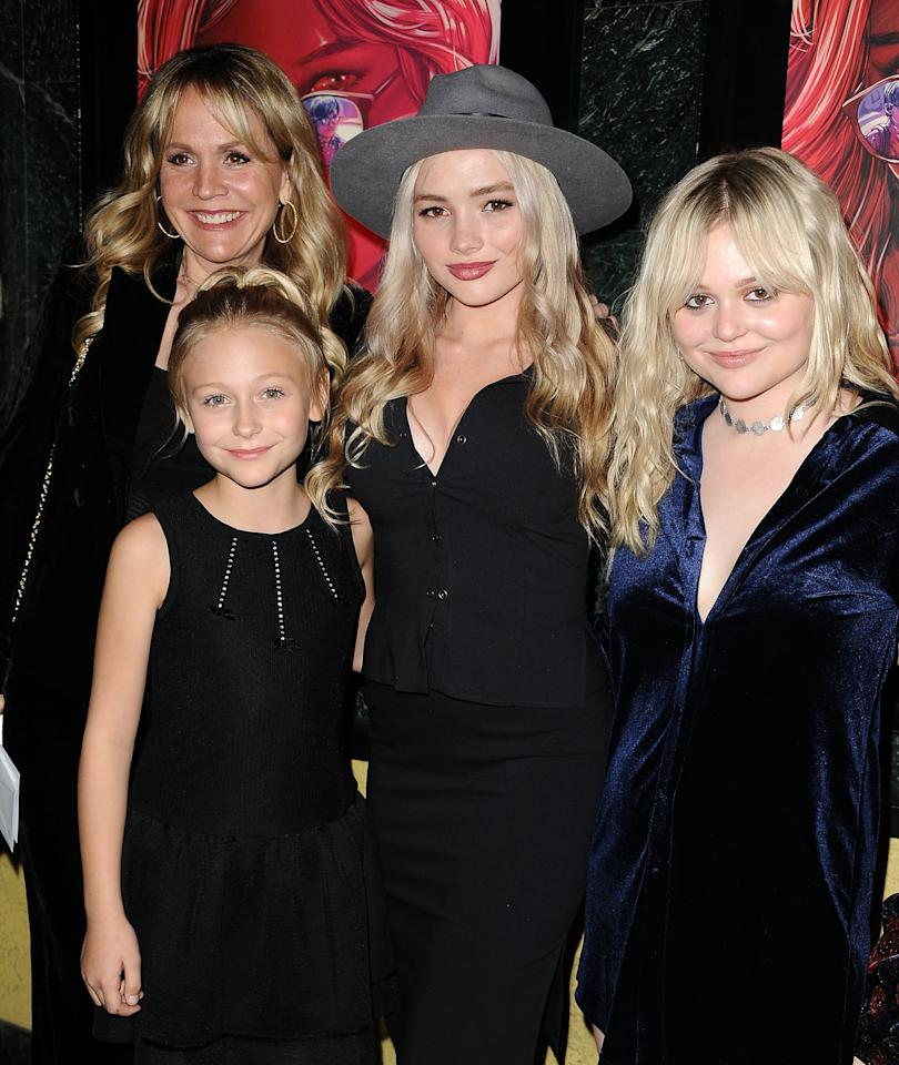 """<p>Her mother, Barbara Alyn Woods, is best known for her role as Deborah """"Deb"""" Scott on <strong>One Tree Hill</strong>. Both of her sisters are also actresses, with Natalie Alyn Lind being known for <strong>Gotham</strong> and <strong>The Goldbergs</strong> and Alyvia Alyn Lind for playing Angelica Green on <strong>Daybreak</strong>. Her father, John Lind, is also a director/producer.</p>"""