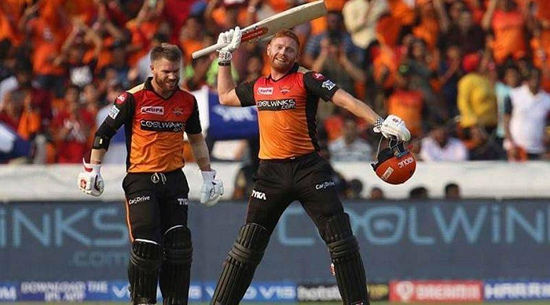 Jonny Bairstow and David Warner had prolific seasons in IPL 2019