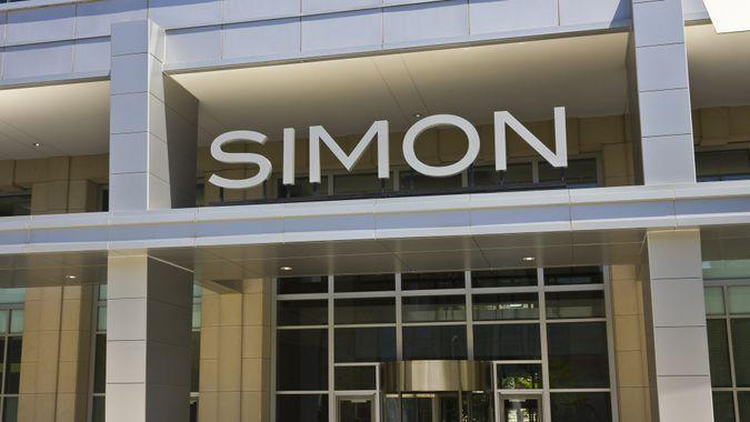 Simon Property Group mall owner
