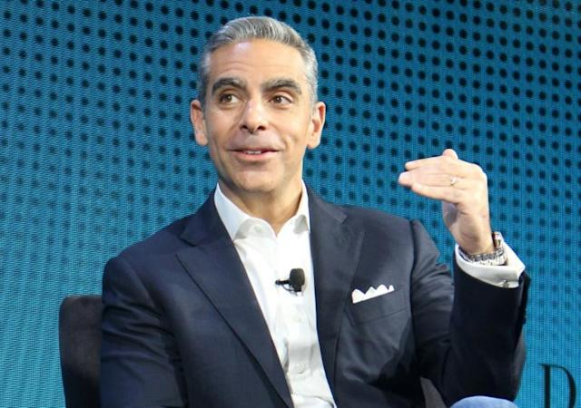 Facebook's David Marcus, who heads the social network's digital currency initiative, said he expects an extensive regulatory review of the Libra project (AFP Photo/Glenn CHAPMAN)