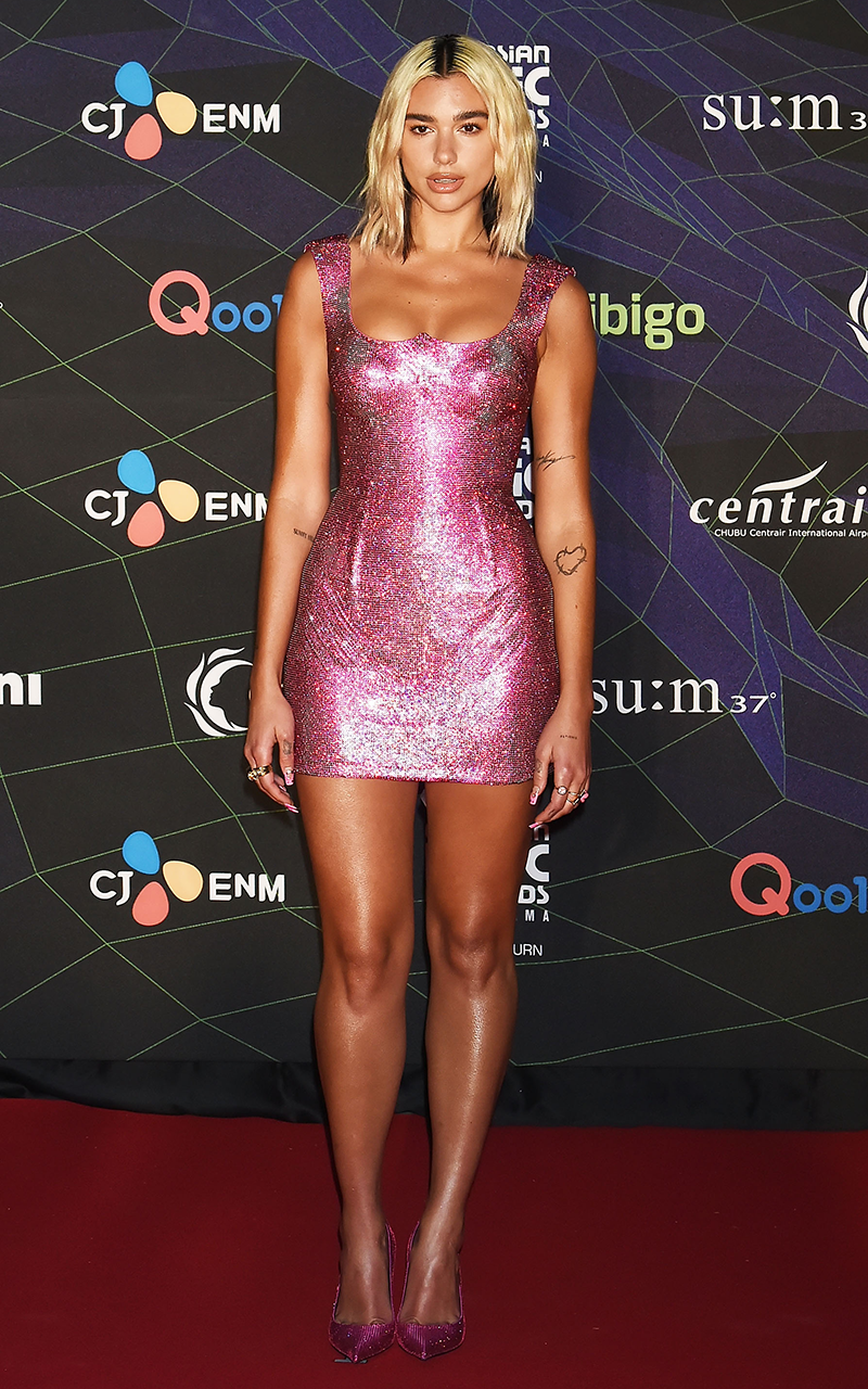 """<p>THIS <a href=""""https://www.cosmopolitan.com/uk/fashion/celebrity/a30131205/dua-lipa-pink-dress/"""" rel=""""nofollow noopener"""" target=""""_blank"""" data-ylk=""""slk:pink dress"""" class=""""link rapid-noclick-resp"""">pink dress</a>, worn for the Mnet Asian Music Awards (AKA MAMAs) was such a moment. The colour! The fit! The sparkle! In fact, Dua loved the piece so much she even described it as her """"dream dress"""" on <a href=""""https://www.instagram.com/p/B5q9cEpBfSU/"""" rel=""""nofollow noopener"""" target=""""_blank"""" data-ylk=""""slk:Instagram"""" class=""""link rapid-noclick-resp"""">Instagram</a>.</p>"""