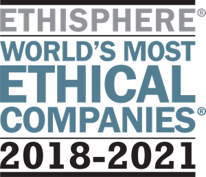"""World's Most Ethical Companies"""" and """"Ethisphere"""" names and marks are registered trademarks of Ethisphere LLC."""