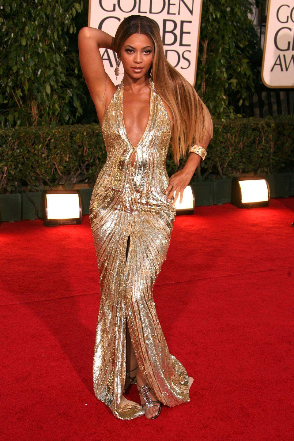 <p>The dress, the pose, could anyone forget this epic Elie Saab moment in 2007?</p>