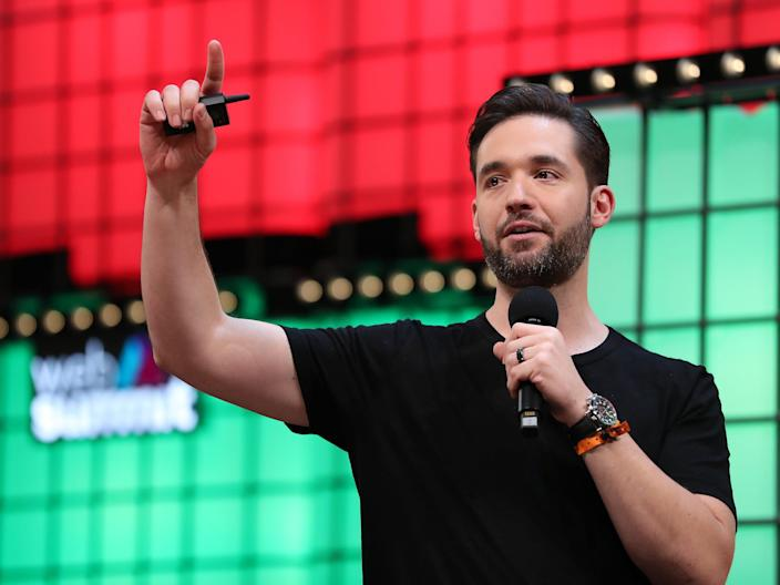 Reddit and Initialized Capital cofounder Alexis Ohanian.