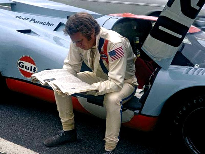 behind the scenes with steve mcqueen at le mans. Black Bedroom Furniture Sets. Home Design Ideas