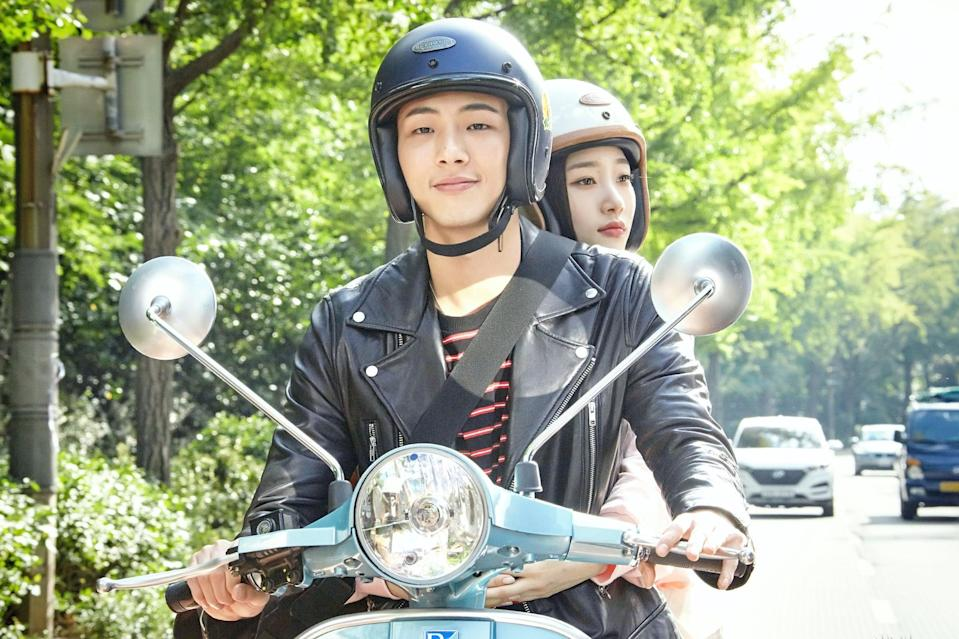 """<p>When a group of Yun Tae-o's friends move into his house together, they all experience everything that comes with love, friendship, and getting older.</p> <p><a href=""""https://www.netflix.com/title/81026700?so=su"""" class=""""link rapid-noclick-resp"""" rel=""""nofollow noopener"""" target=""""_blank"""" data-ylk=""""slk:Watch My First First Love on Netflix now"""">Watch <strong>My First First Love</strong> on Netflix now</a>. </p>"""
