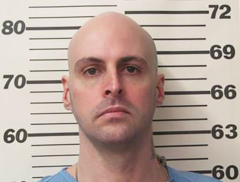 This 2013 photo provided by the Tennessee Department of Correction shows Curtis Ray Watson. The Tennessee convict suspected of killing a longtime corrections employee and escaping a prison on a tractor could have left the state, authorities said Thursday as the manhunt for the elusive inmate intensified.(Tennessee Department of Correction via AP)