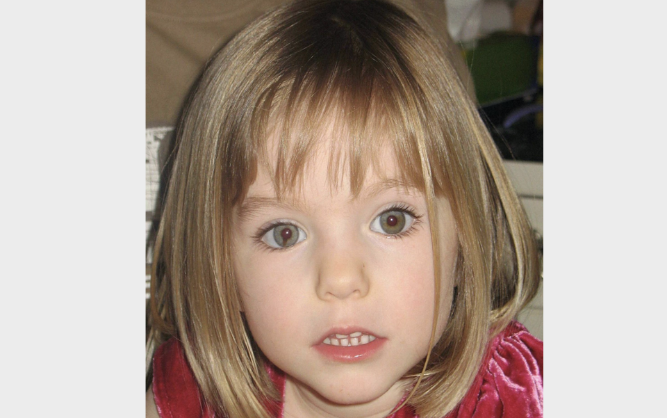 Madeleine McCann is thought to be dead and a suspect has been arrested on suspicion of murder, German authorities say. (PA Images)