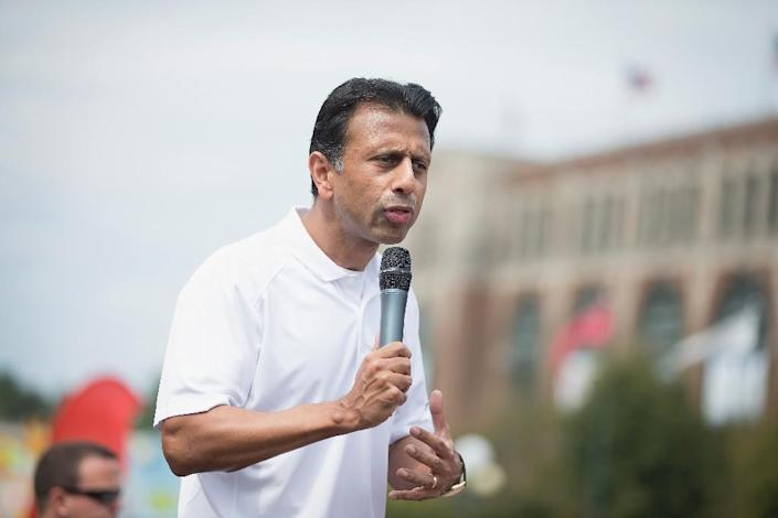 Republican presidential candidate Louisiana Governor Bobby Jindal, the son of immigrants from India, has urged ending the right to US citizenship by birth on US soil (AFP Photo/Scott Olson)