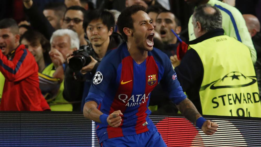 Neymar Barcelona PSG Champions League 08 03 2017