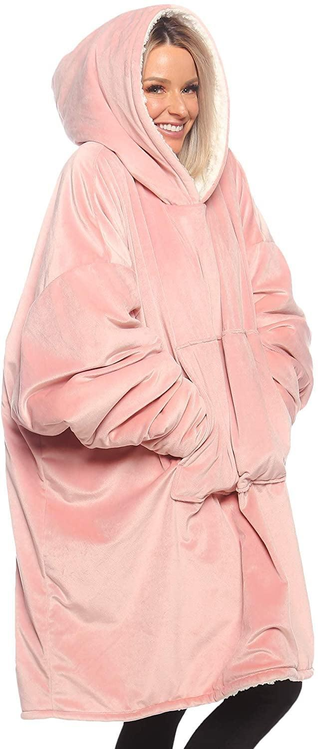 <p>They'll love lounging at home in this <span>The Comfy Original</span> ($45). It's an oversized microfiber and sherpa wearable blanket.</p>