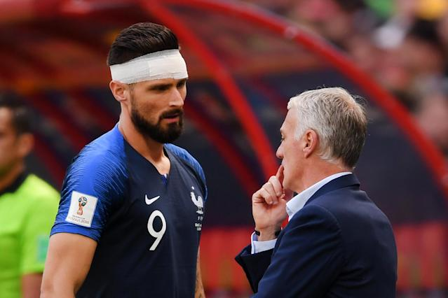 <p>Calling for back up, France need Olivier Giroud to get them over the line </p>