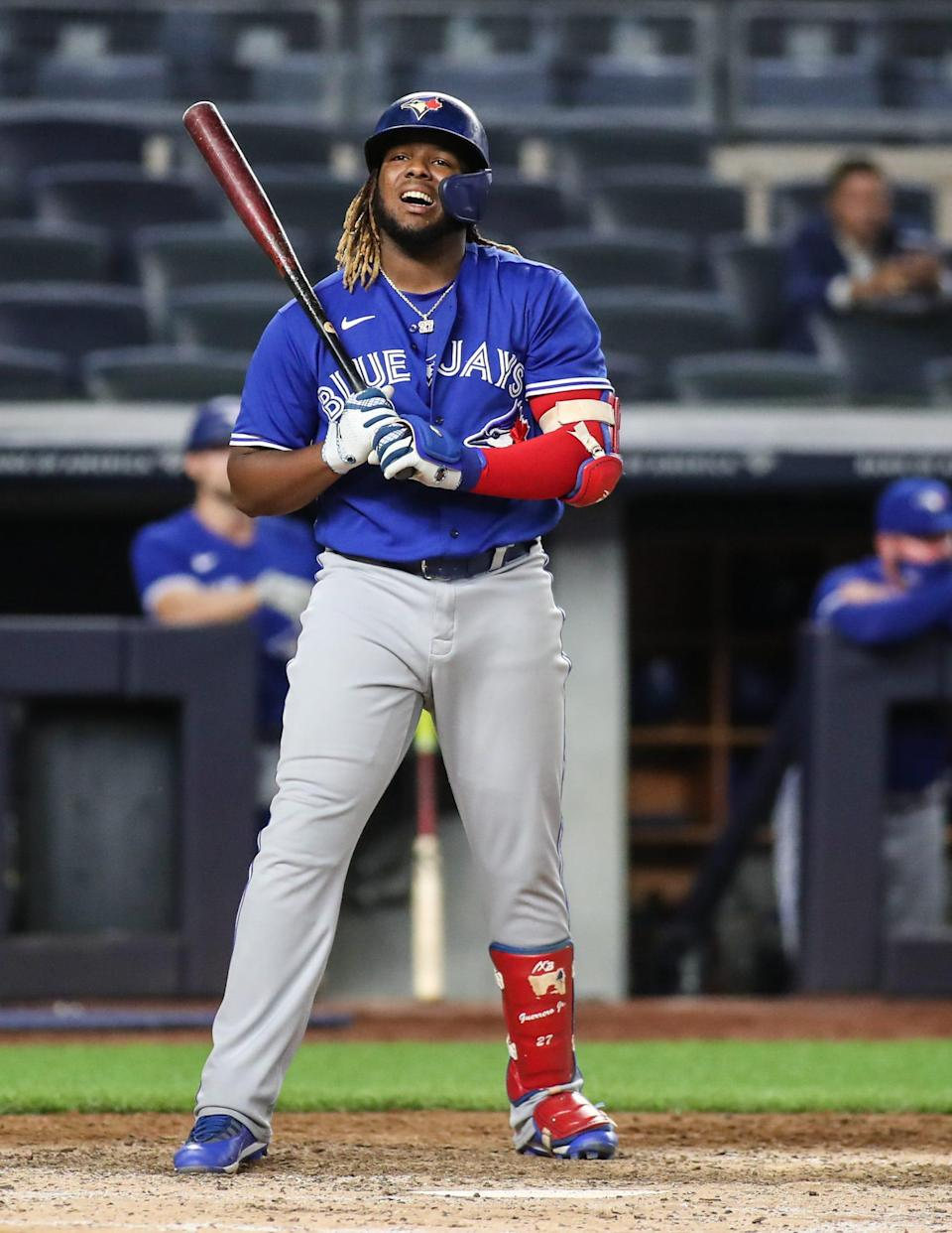 Toronto Blue Jays first baseman Vladimir Guerrero Jr. received the most votes in the initial tally.