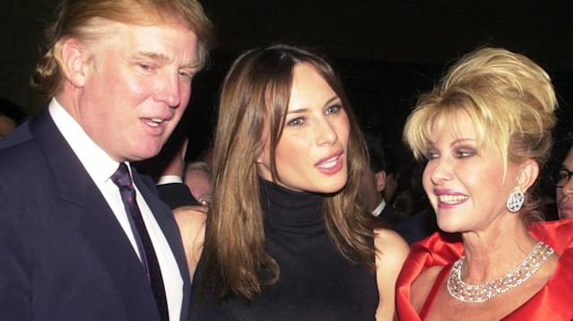 Ivana Trump might talk to President Donald Trump regularly, but she's not calling him at the White House.