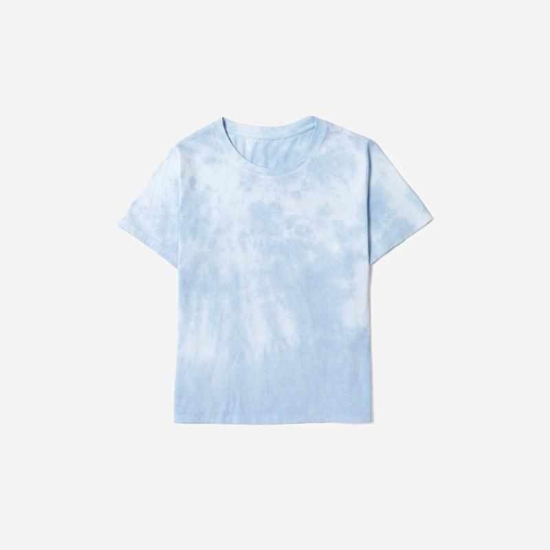 "<strong><a href=""https://www.everlane.com/products/womens-tie-dye-box-cut-tee-tiedyeblue?collection=womens-tees"" target=""_blank"" rel=""noopener noreferrer"">Get the Everlane tie-dye box tee for $25.</a></strong>"