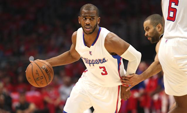 Chris Paul #3. (Photo by Stephen Dunn/Getty Images)