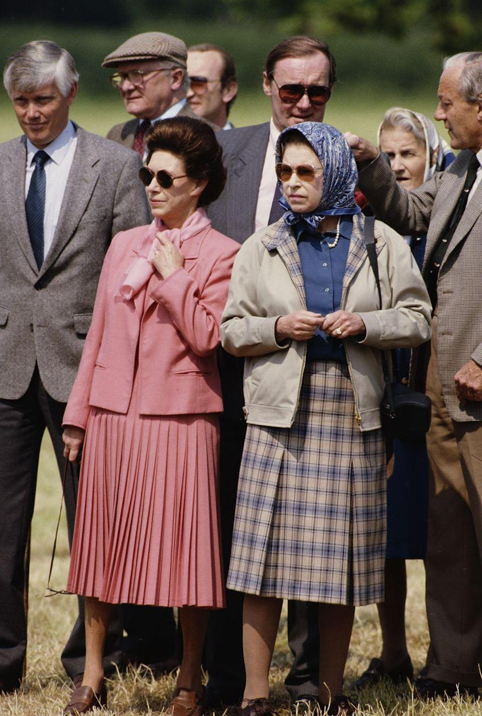 <p>Princess Margaret's outfits were always attention-grabbing. </p>