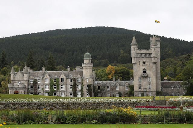 Balmoral is where the Queen would usually spend the summer. (Getty Images)