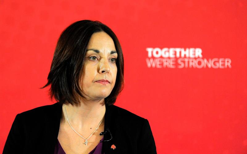 Kezia Dugdale, the Scottish Labour leader - Credit: Andy Buchanan/AFP