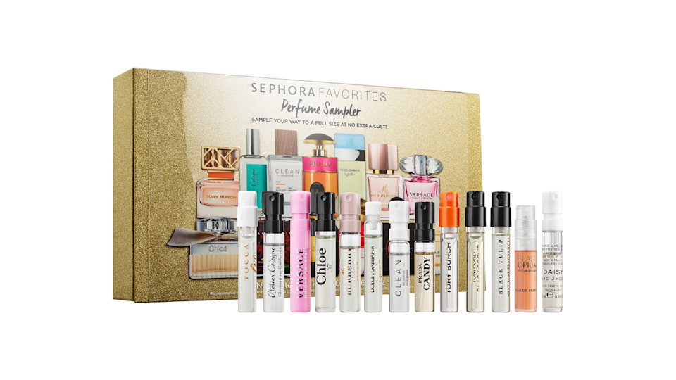 Best gifts for women: Sephora Perfume Sampler