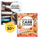 "<p>delish.com</p><p><a href=""https://store.delish.com/delish_keto_bundle.html"" rel=""nofollow noopener"" target=""_blank"" data-ylk=""slk:SHOP NOW"" class=""link rapid-noclick-resp"">SHOP NOW</a></p><p><br>Whether you're full-on keto needing new recipes or keto-curious but hesitant to jump into another diet, this is your delicious solution. Now you can get both the best-selling <em>Keto for Carb Lovers</em> and the newly-launched <em>Keto for Dessert Lovers</em> for one low price!<br><br></p>"