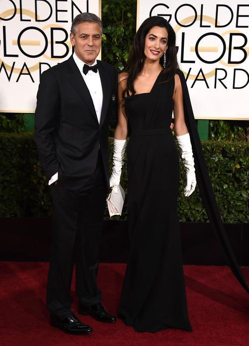 George Clooney Shops His Closet, Wears His Armani Wedding Tuxedo ...