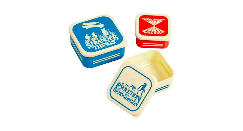 Stranger Things Containers