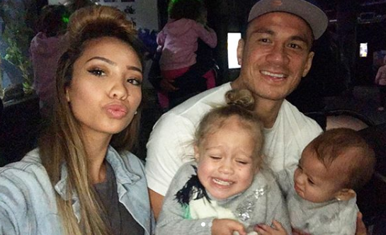 Sonny is now married with two kids and Candice said she realises it couldn't have been easy for them. Source: Instagram/SonnyBillWilliams