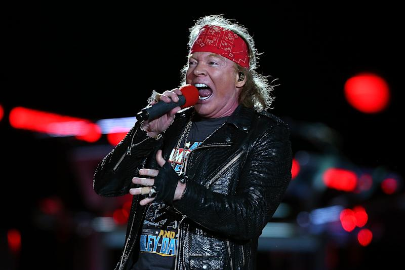 Axl Rose rarely tweets, but when he does it is often about politics. (Photo: Paul Kane/Getty Images)