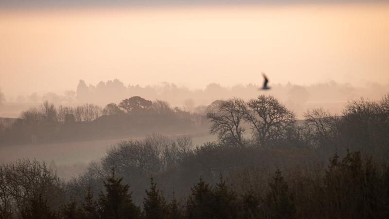Temperatures drop to minus 10C on coldest autumn night this year