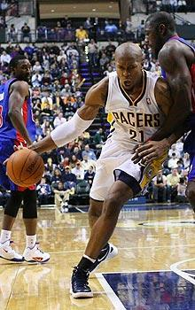 After eight seasons with the Hornets, David West joined the Pacers on a two-year deal