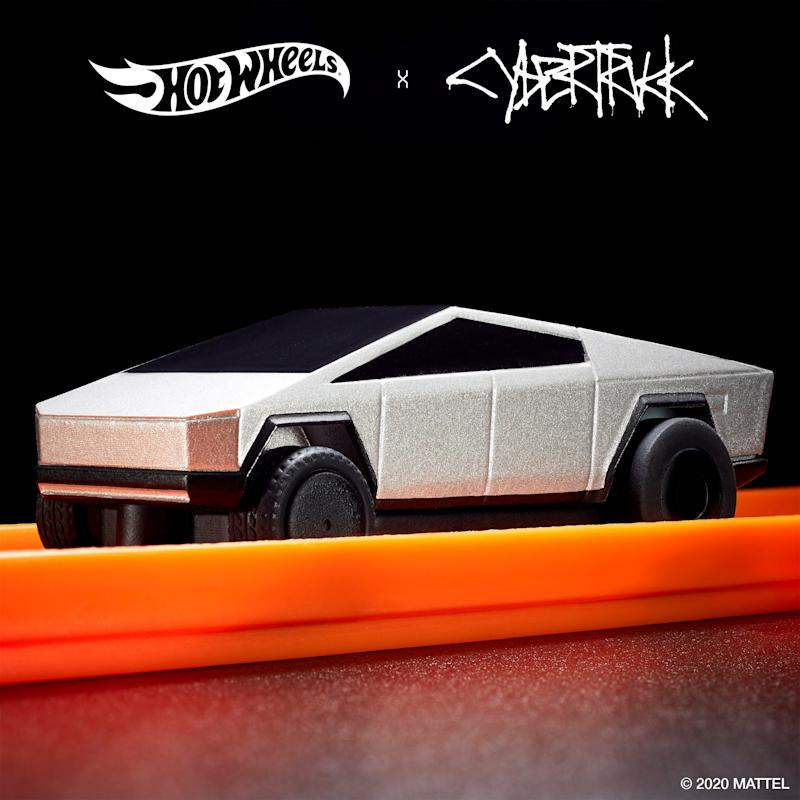 Hot Wheels has unveiled two Cybertruck radio-control toys scheduled to come out in December 2020.